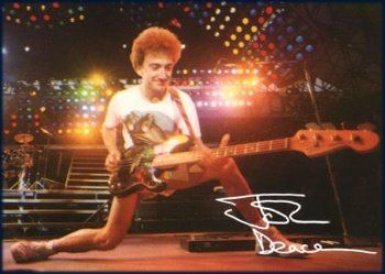 John Deacon - Queen Bassist