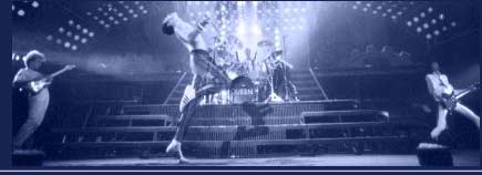 Shanes Queen Site : Queen are Freddie Mercury, Brian May, Roger Taylor, John Deacon